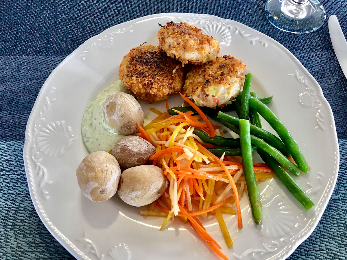 Alaska Crab Cakes from Chef Therese